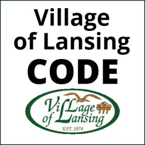 Village of Lansing Code
